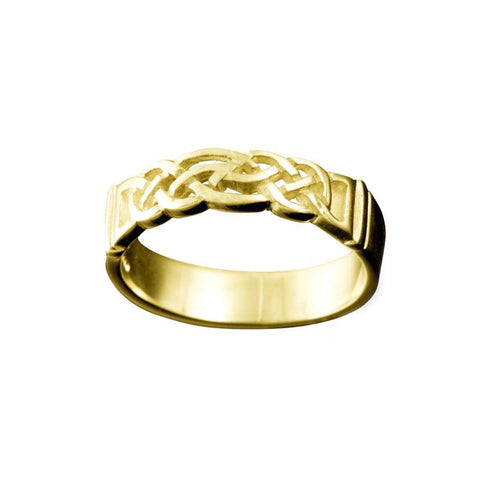 Linga Celtic Knotwork Ring
