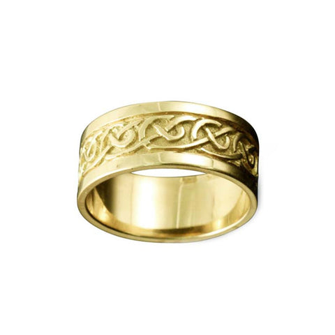 Noss Celtic Knotwork Ring