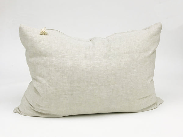Headboard Cushion Solid Oatmeal | Hedgehouse