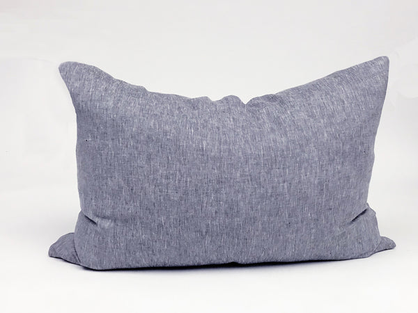 Headboard Cushion Solid Blue | Hedgehouse