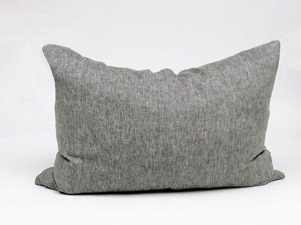 Headboard Cushion Solid Charcoal | Hedgehouse