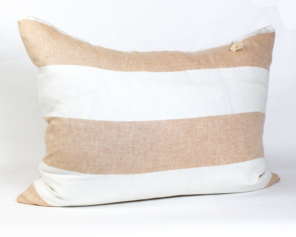 Harbour Island Headboard Cushion In Butterscotch | Hedgehouse