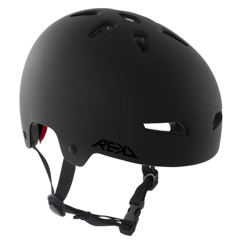 REKD Elite Skate and Bike Protective Helmet - Black