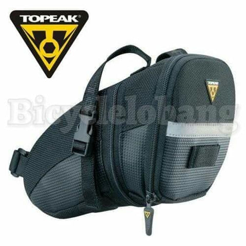 Topeak Aero Wedge Strap On Saddle Bag – Medium