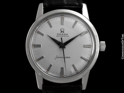 1962 Omega Seamaster Vintage Mens Automatic Caliber 552 Watch - Stainless Steel