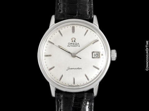 1965 Omega Seamaster Vintage Mens Rare Cal. 560 Watch, Automatic, Date - Stainless Steel