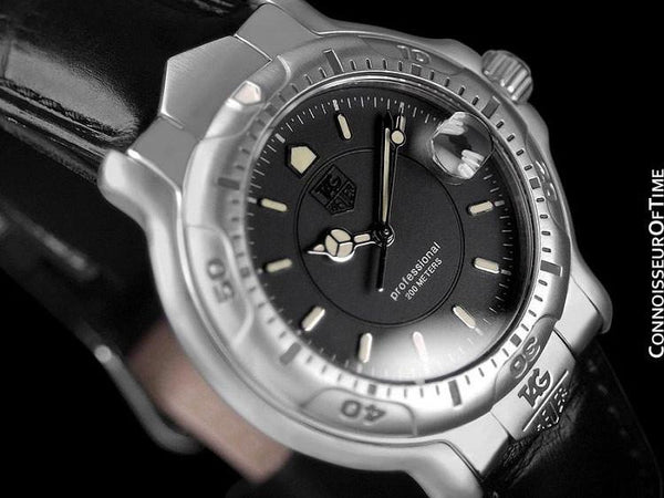 TAG Heuer Professional 6000 Mens Divers Watch - Stainless Steel - WH1212
