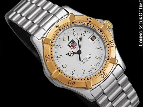Tag Heuer Proofessional 2000 Mens Diver Watch, 964.013F - Stainless Steel & 18K Gold Plated