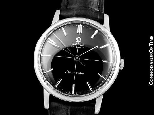 1962 Omega Seamaster Mens Vintage Automatic Watch - Stainless Steel