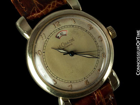 1952 Jaeger-LeCoultre Vintage Mens Powermatic Watch - 10K Gold Filled