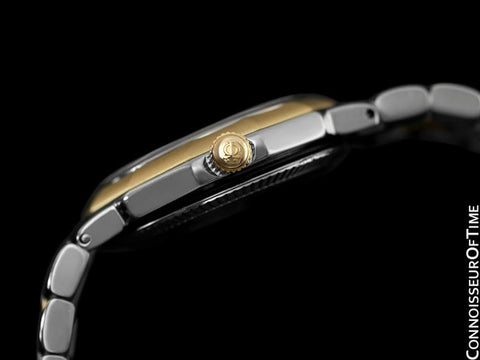 Baume & Mercier Ladies Riviera Two-Tone Watch - Stainless Steel and 18K Solid Gold