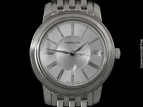 Tiffany & Co. Mark Automatic Large Chronometer Mens Watch - Stainless Steel