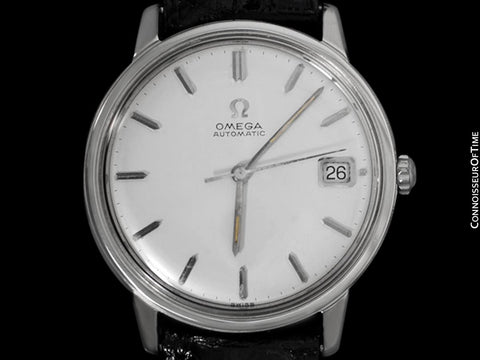 1964 Omega (Seamaster) Vintage Mens Rare Cal. 560 Watch, Automatic, Date - Stainless Steel