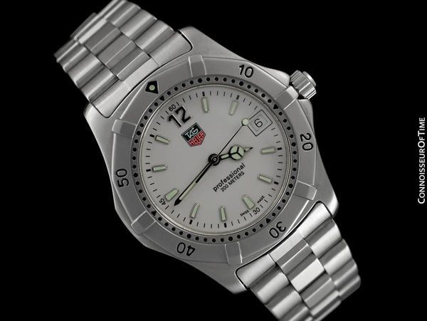 TAG Heuer Professional 2000 Mens Diver Watch, WK1111-0 - Stainless Steel