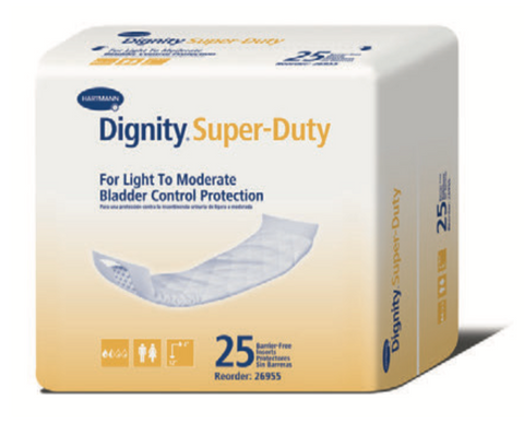 Dignity® Super-Duty   Bladder Control Protection Booster Pads for light to moderate incontinence