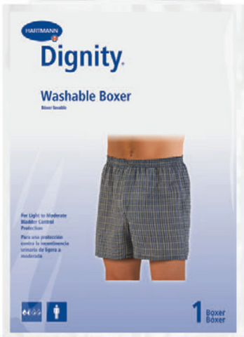 Sir Dignity Washable Boxers in Tartan Plaid for pouch pads or liners