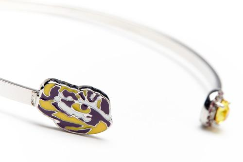 Louisiana State University Tigers Bracelet Bangle
