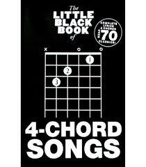 Little Black 4 Chord Songs Book