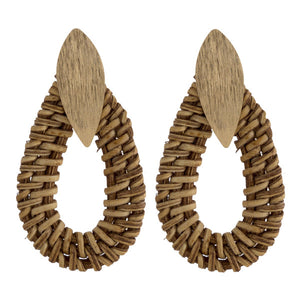 Rattan Earring Collection