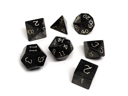 Wizard Stone Dice - The Void
