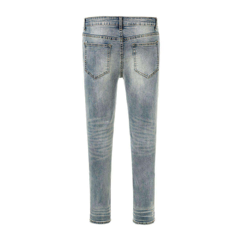 DESTROYED DENIM - BLUE