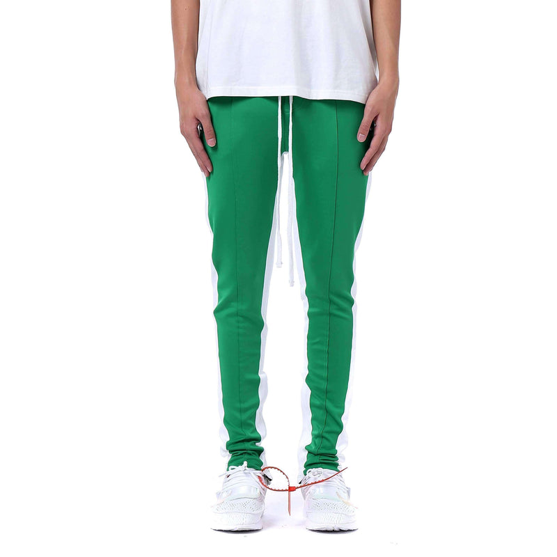 RETRO PANTS - GREEN / WHITE