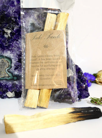 Palo Santo smudge stick- 2 pack
