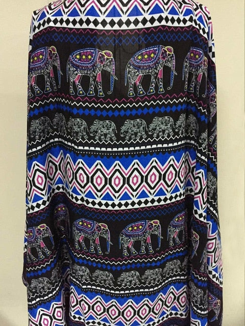 Elephant Summer Cardigan