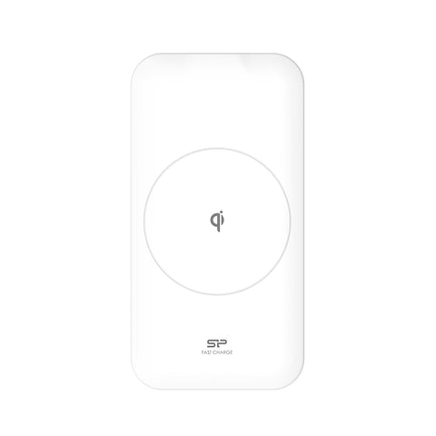 Silicon Power 10W Fast Wireless Qi Charger White