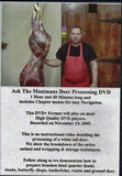 DVD Combo Deer Processing and Deer Skinning / Gutting