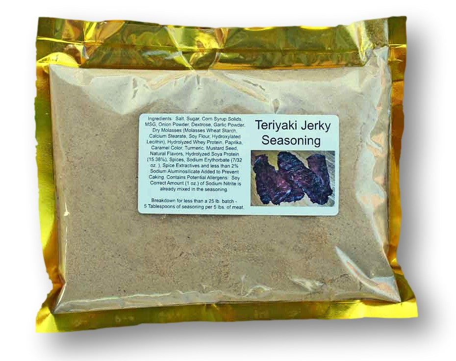 Ask The Meatman's Own Teriyaki Jerky Seasoning (Blend 54)