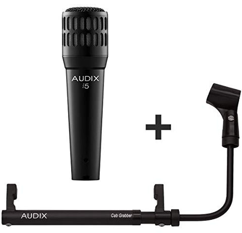 Audix i5 Dynamic Microphone with CabGrabber Pack