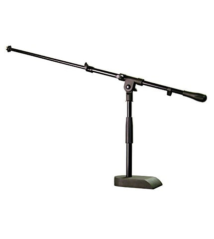 Audix Stand-kd Heavy duty pedestal base mic stand with boom arm (Used)