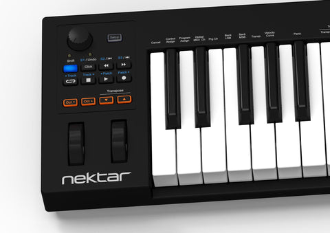 Nektar Impact GX61 61 note USB MIDI keyboard controller with Nektar DAW integration