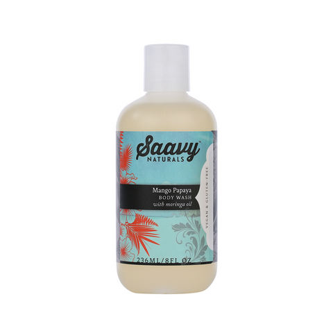 Natural and Organic Body Wash - Mango Papaya