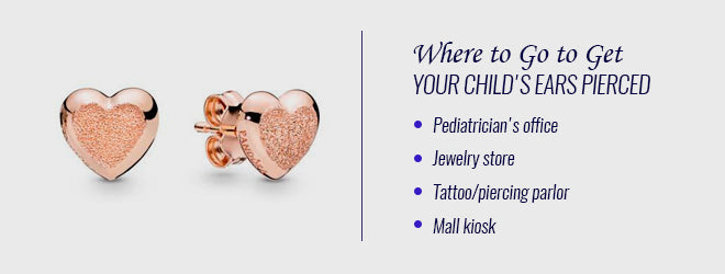 What To Know Before Piercing Your Child S Ears Mountz Jewelers