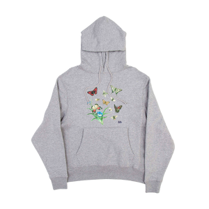 Heather Butterflies & Bees Sweatshirt