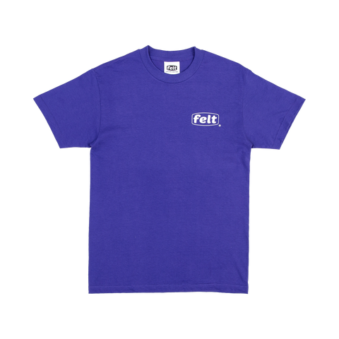 Purple Work Logo T-Shirt