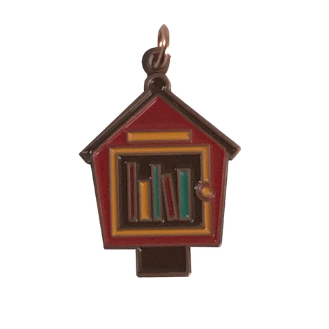 Little Free Library Keychain