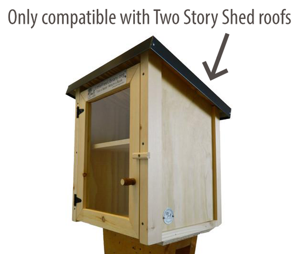 Two Story Shed Rooftop Garden