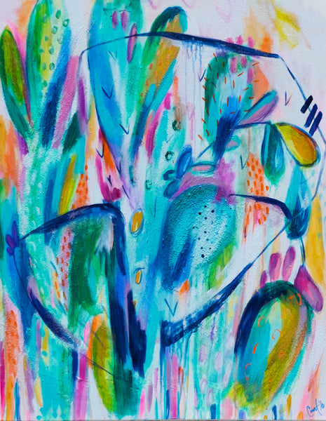 Abstract Cati Painting