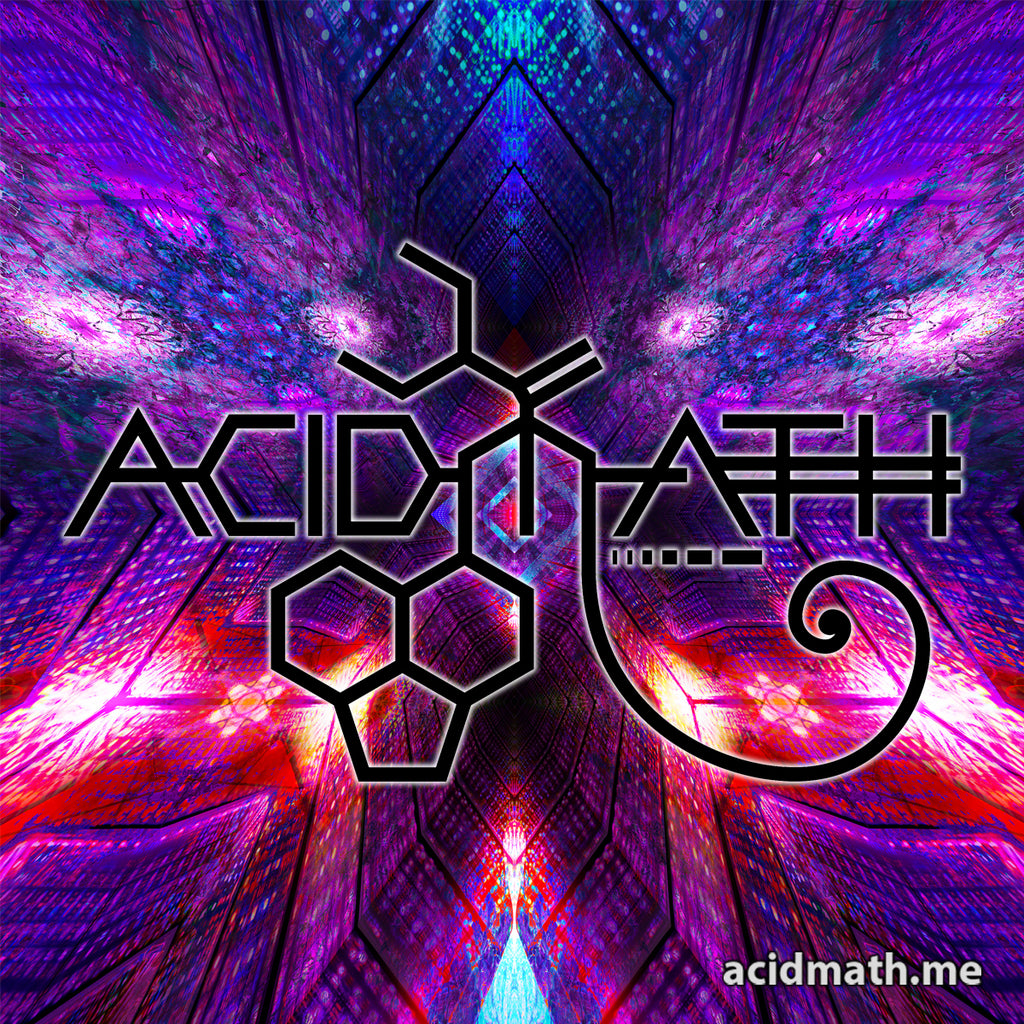 Acidmath Constucting The Void Logo Sticker