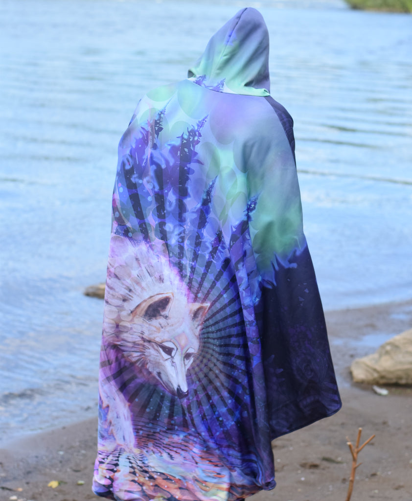 Spirit Wolf Cloak by Simon Haiduk