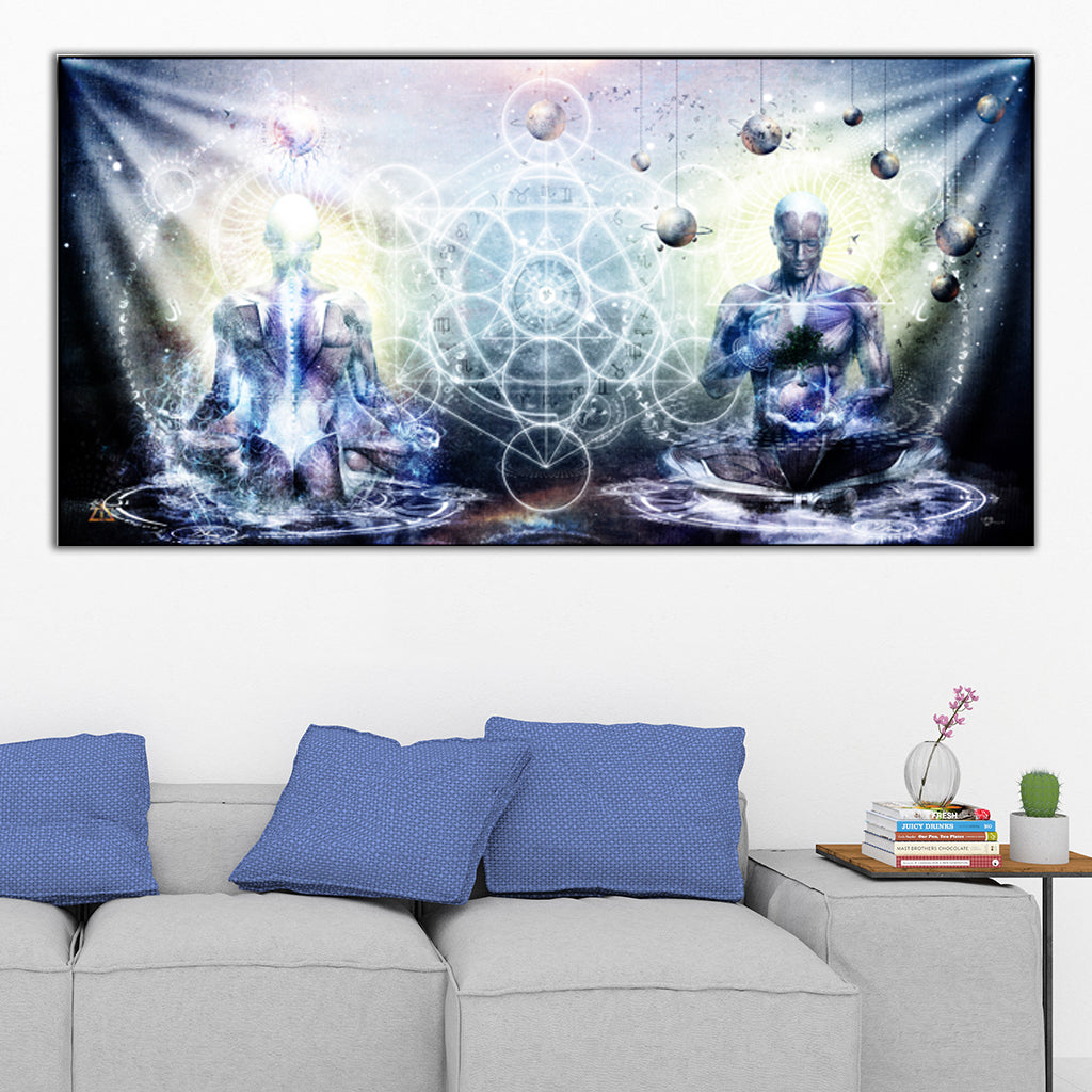 Experience So Lucid, Discovery So Clear Tapestry by Cameron Gray