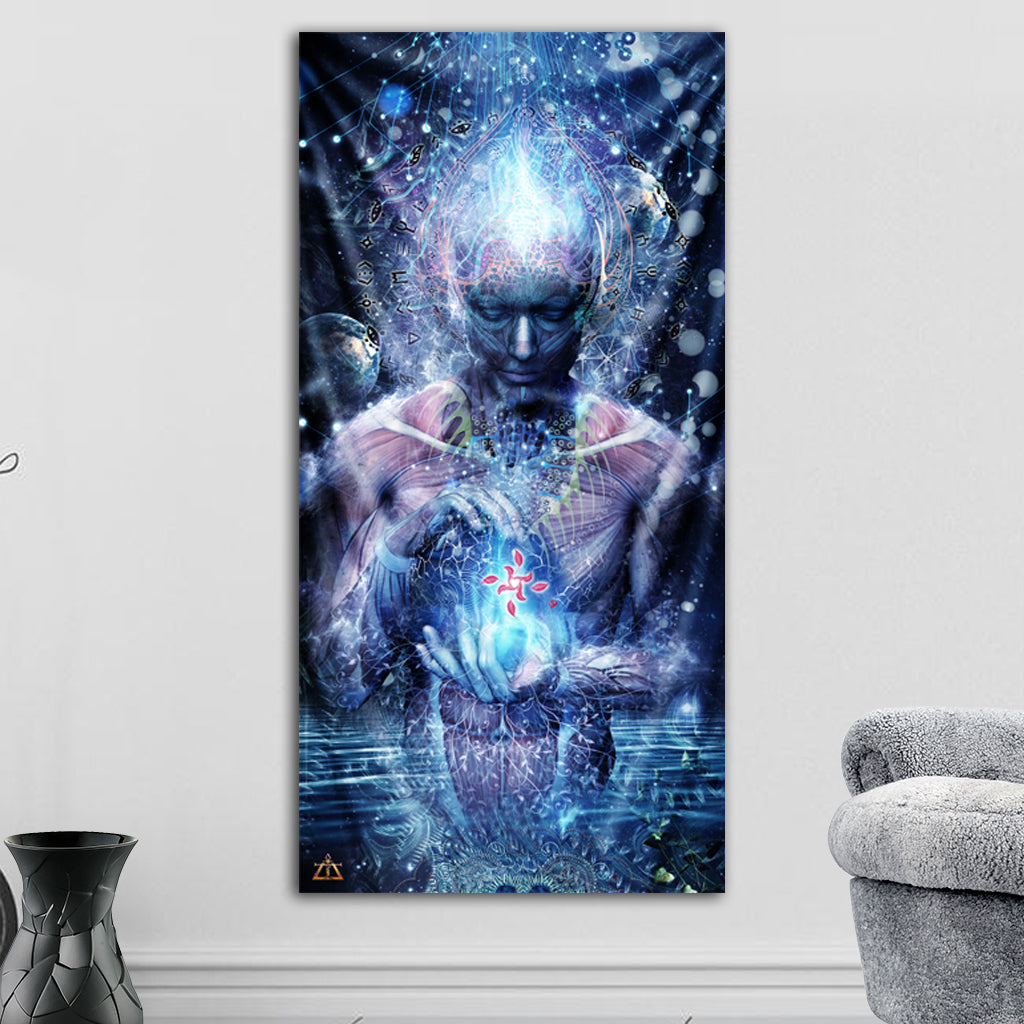 Silence Seekers Tapestry by Cameron Gray