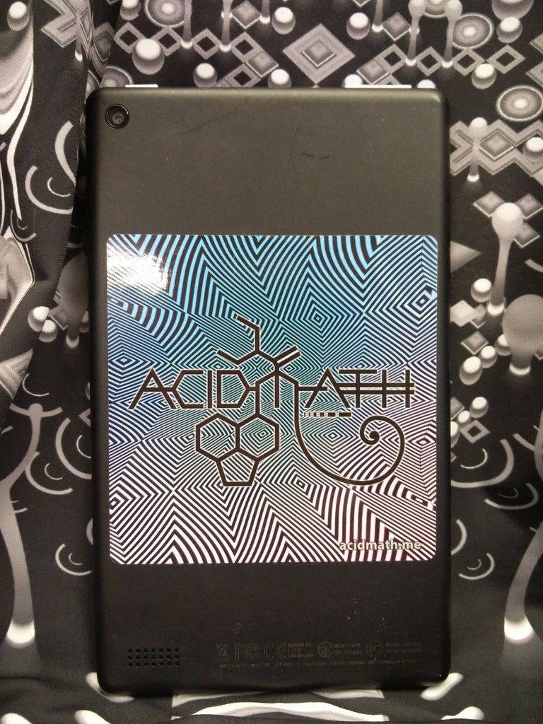 Acidmath Opart Logo Sticker