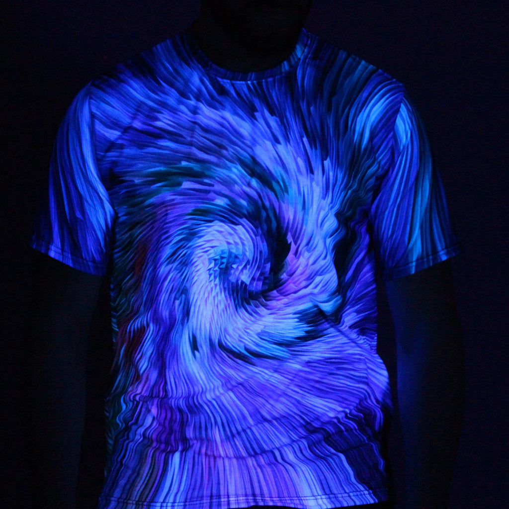 Light Spiral Tee by Manipulated Light
