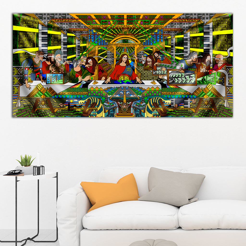 The Last Supper Tapestry by Ivi Mo