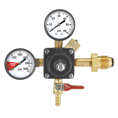 Twin Gauge Nitrogen Regulator