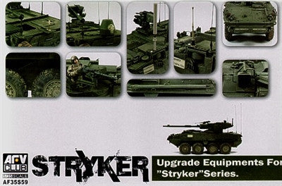 AFV Club Military 1/35 Stryker Vehicle Upgrade Equipment Kit